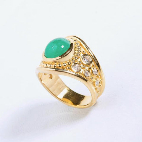 Emerald Signent Ring