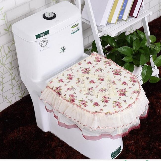 Smells like Roses toilet cover