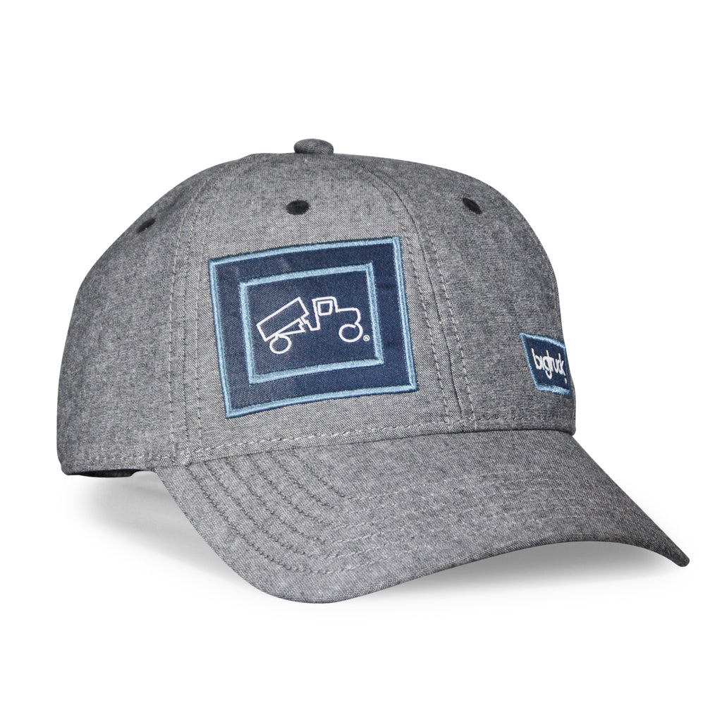 Cap Chambray Gunmetal Grey