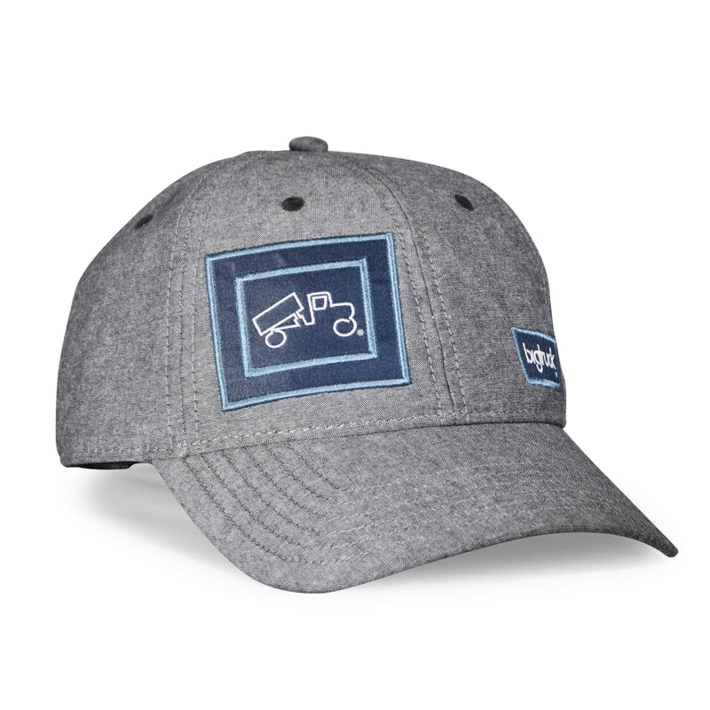 Cap Chambray Gunmetal Grey (B-Ware)