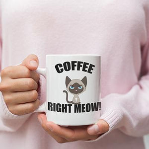 Cat Tea and Coffee Mugs