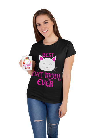 Best Cat Mom Ever Shirt by Catariffic