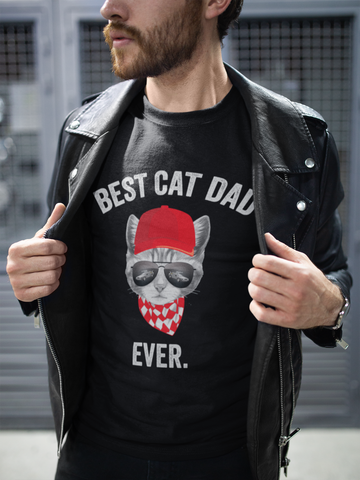 Best Cat Dad Ever (BTTF  Edition) Cat Shirt - Catariffic.com