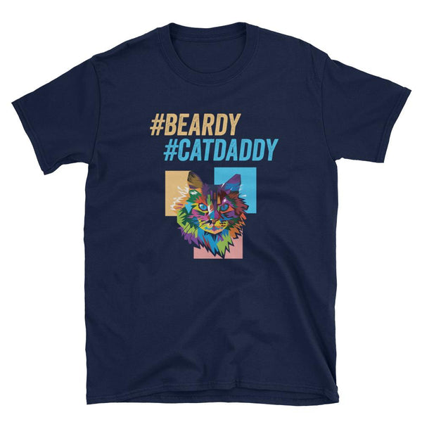Beardy Cat Daddy Shirt for Cat Fathers - Catariffic