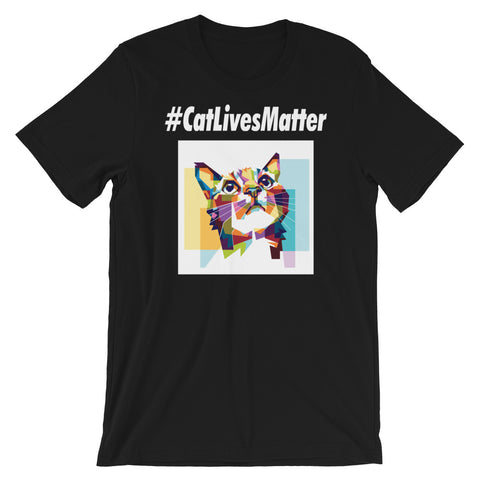 Cat Lives Matter Cute Cat Shirt