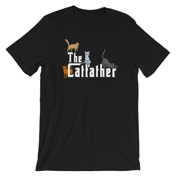The Catfather T-Shirt For Cat Dads