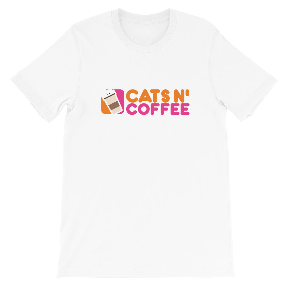 Dunkariffic Cats and Coffee T Shirt