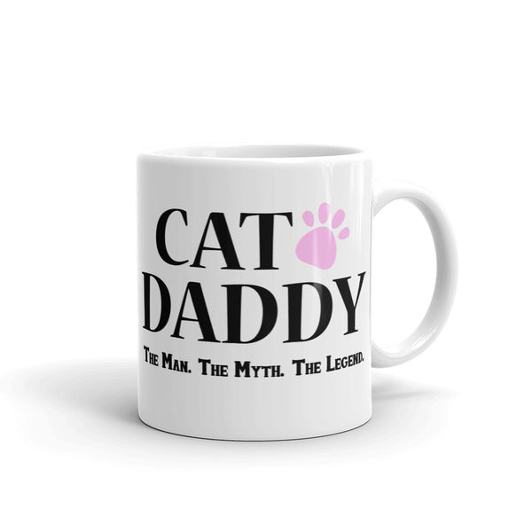 Cat Daddy Mug (The Man The Myth The Legend)