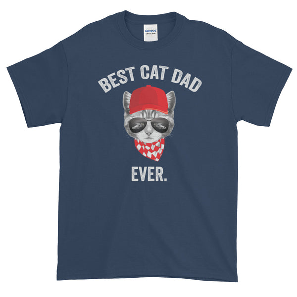 Best Cat Dad Ever Dad Gift Shirt