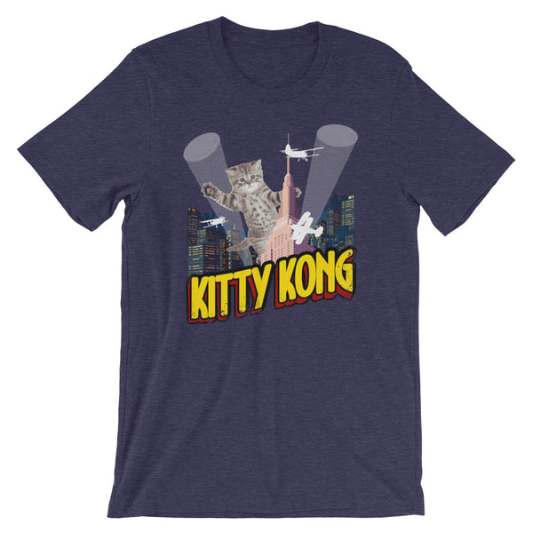 Kitty Kong Pop Culture Cat T-Shirt