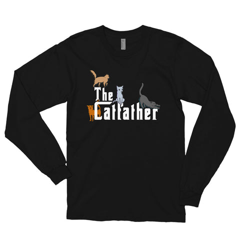 The Catfather Long sleeve t-shirt