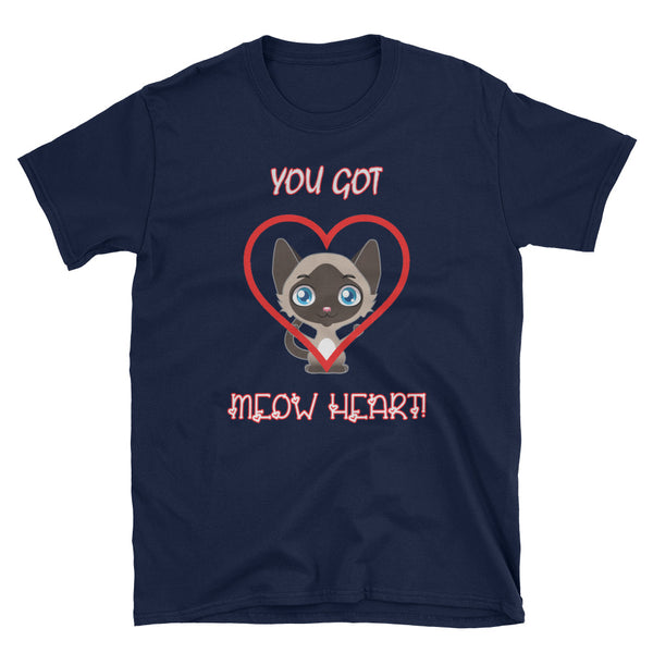 You Got Meow (My) Heart Cat Love Shirt