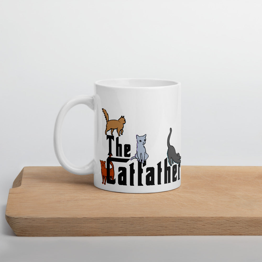 The Catfather Mug for Cat Daddys