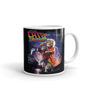 Cats To The Future Mug