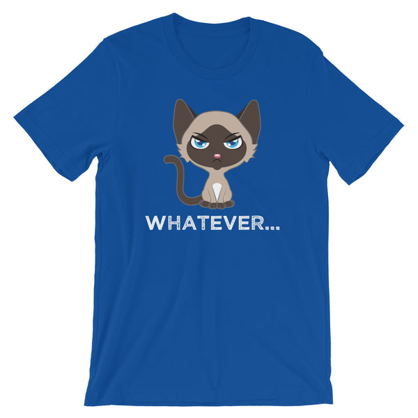 Whatever...Funny Cute Siamese Cat T-Shirt
