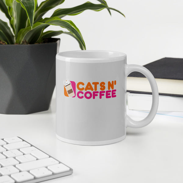 Dunkariffic Cats N' Coffee Mug