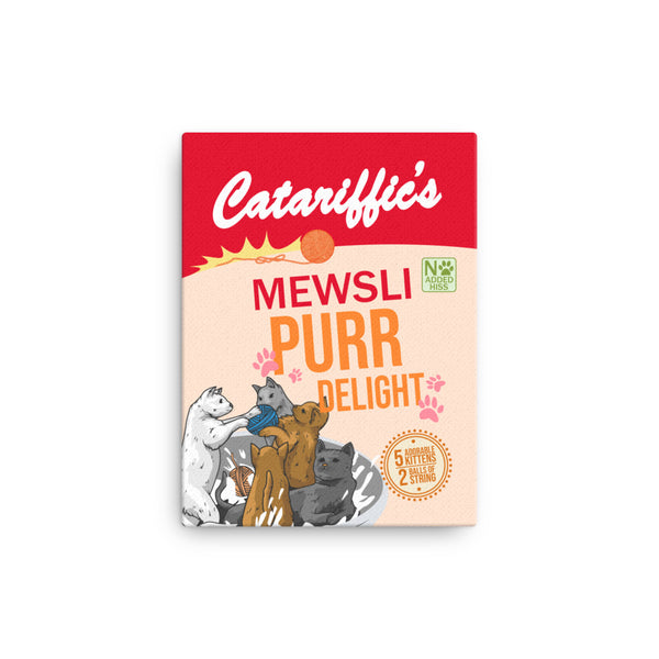 Catariffic's Mewsli Canvas