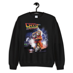 Cats To The Future Unisex Sweatshirt