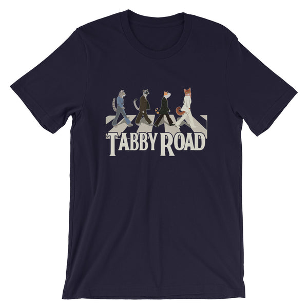 Tabby Road | Pop Culture Cat Humor T Shirt