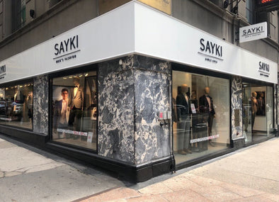 Our Grand Opening 375 Madison Ave.-SAYKI MEN'S FASHION