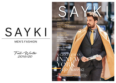 SAYKI Men's Fashion Autumn/Winter Issue