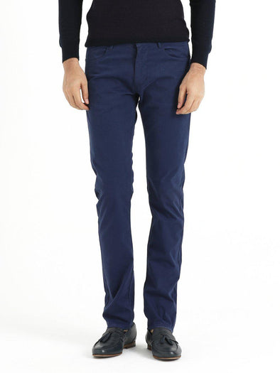SAYKI Men's Slim Fit Navy Pants-SAYKI MEN'S FASHION