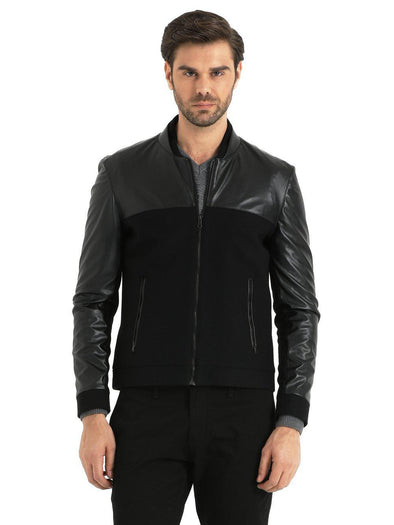 Sayki Mens Black Coat / L Default