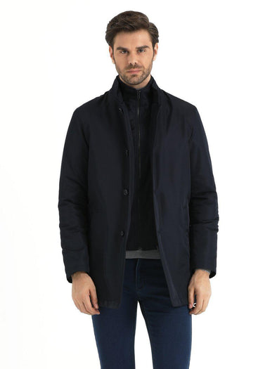 SAYKI Men's Classic Coat-SAYKI MEN'S FASHION