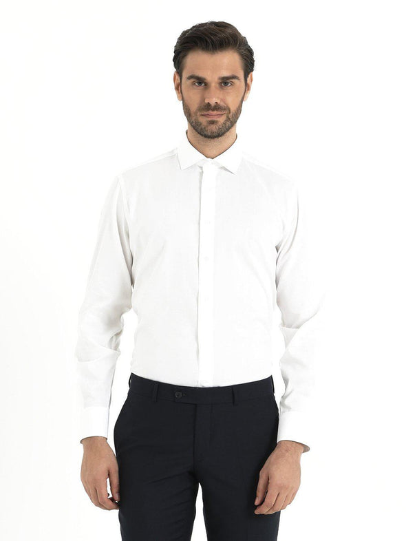 SAYKI Men's Regular Fit Dress Shirt-SAYKI MEN'S FASHION