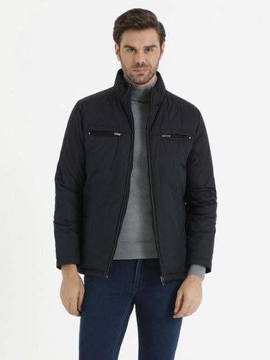 SAYKI Men's Dark Navy Jacket-SAYKI MEN'S FASHION