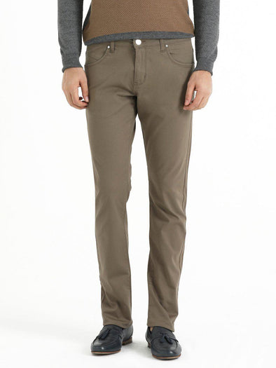SAYKI Men's Dynamic Fit Beige Pants-SAYKI MEN'S FASHION