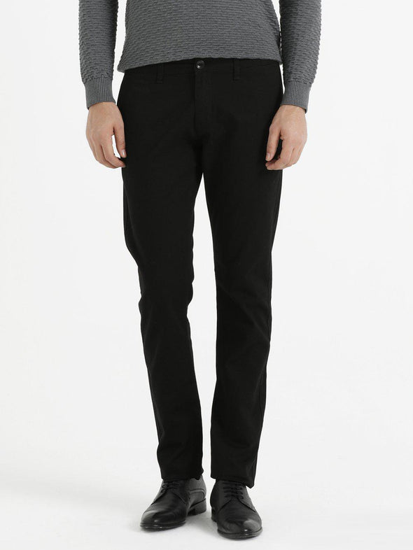SAYKI Men's Dynamic Fit Black Pants-SAYKI MEN'S FASHION