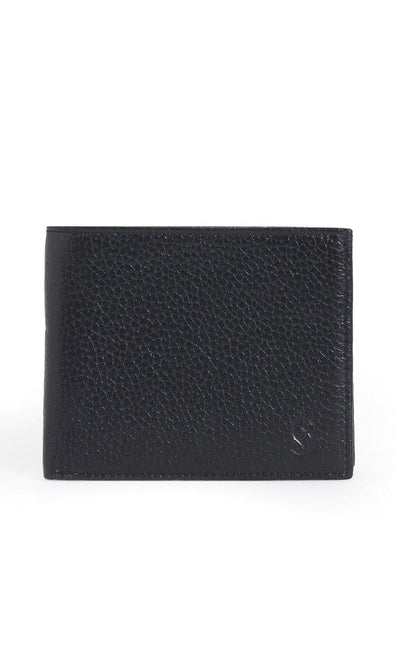 SAYKI Men's Leather Black Wallet-SAYKI MEN'S FASHION