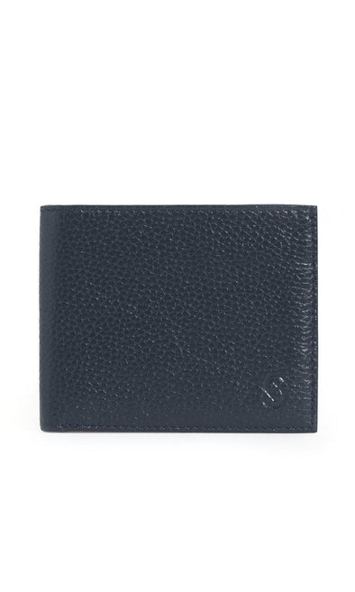 SAYKI Men's Leather Navy Wallet-SAYKI MEN'S FASHION