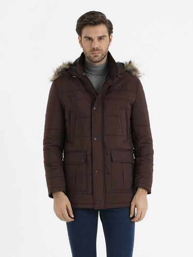 SAYKI Men's Glory Burgundy Coat-SAYKI MEN'S FASHION