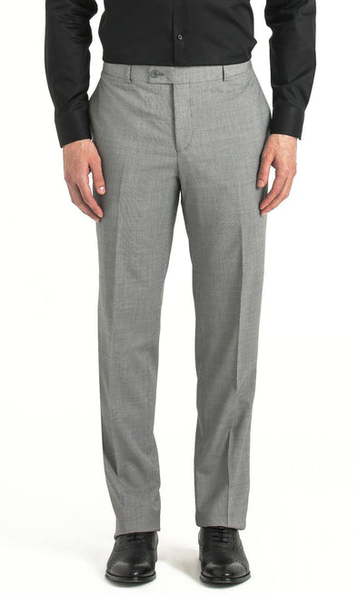 SAYKI Men's Dynamic Fit Houndstooth Grey Pants