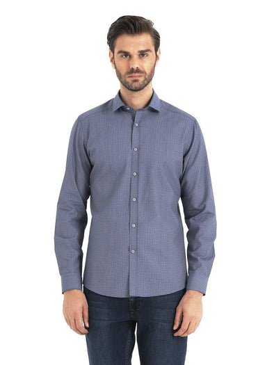 SAYKI Men's Slim Fit Cotton Shirt-SAYKI MEN'S FASHION