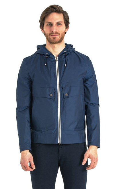 SAYKI Men's Seasonal Indigo Hoodie-SAYKI MEN'S FASHION