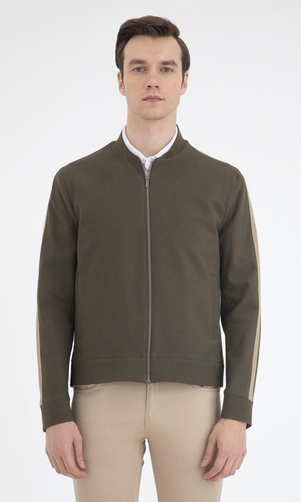 SAYKI Men's Khaki River Jacket-SAYKI MEN'S FASHION