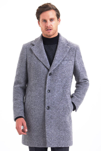 SAYKI Men's Winter Overcoat-SAYKI MEN'S FASHION