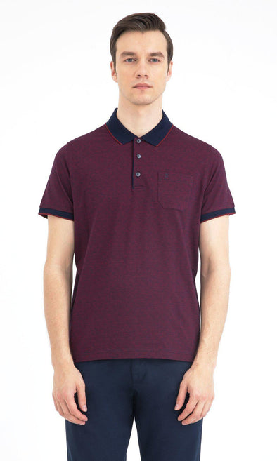 SAYKI Men's Cotton Polo Neck T-Shirt-SAYKI MEN'S FASHION