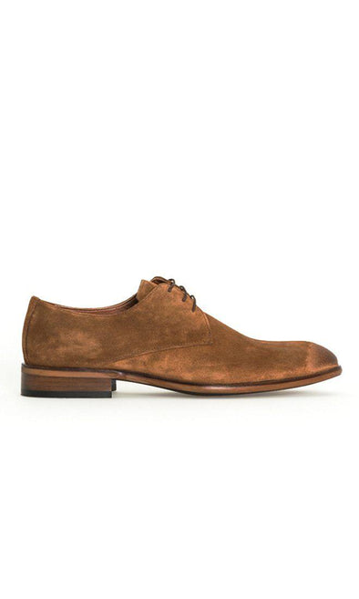 SAYKI Men's Classic Smart Suet Neolith Leather Shoes-SAYKI MEN'S FASHION