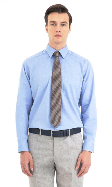 SAYKI Men's Classic Fit Cotton Shirt-SAYKI MEN'S FASHION