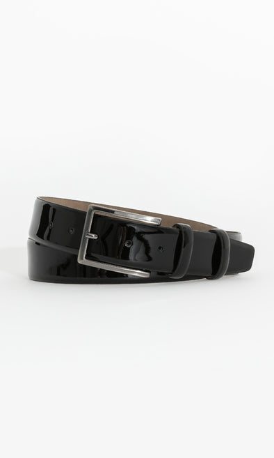 SAYKI Men's Leather Black Belt