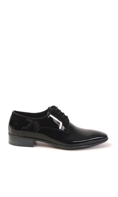 SAYKI Men's Cerimonia Classic Neolith Shiny Shoes-SAYKI MEN'S FASHION