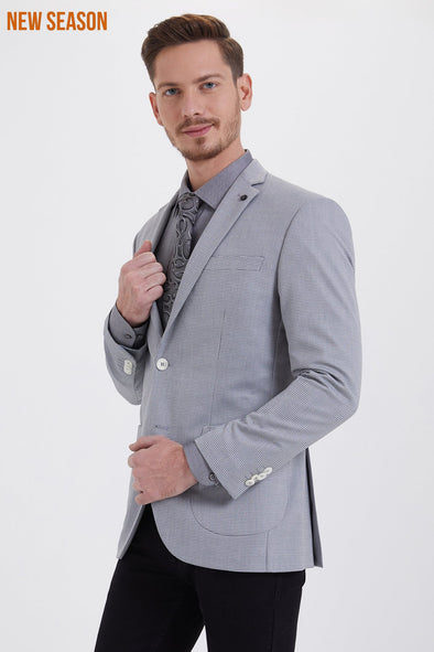 BIRDSEYE SLIM FIT BLAZER