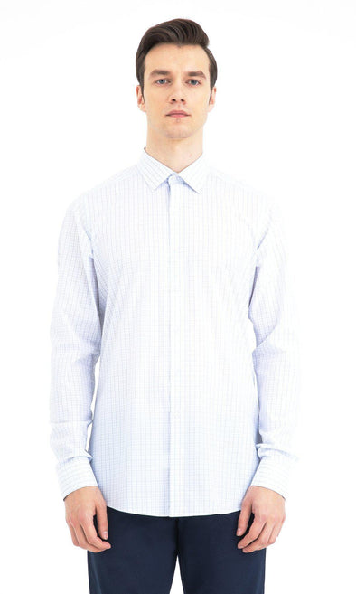 SAYKI Men's Regular Fit Cotton Shirt-SAYKI MEN'S FASHION