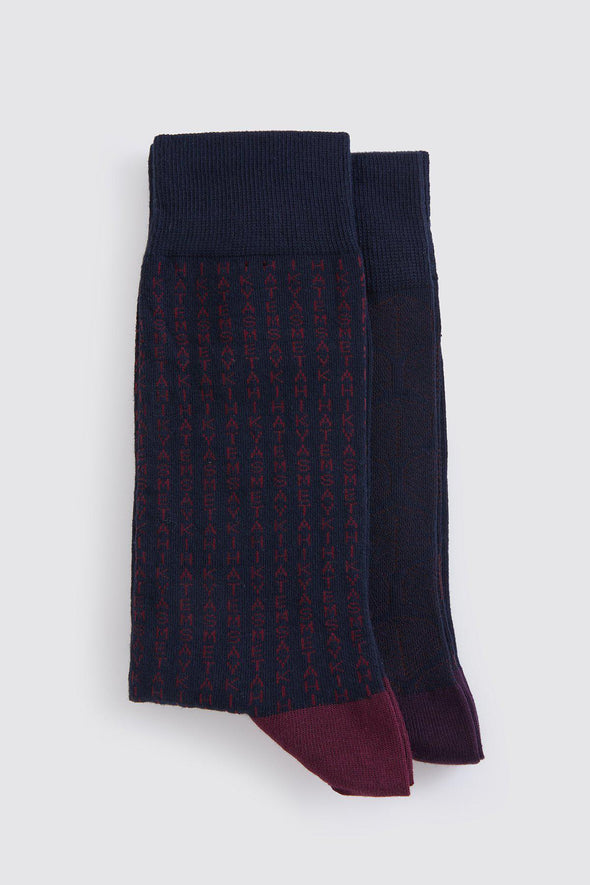 SAYKI Men's Two-Pair Socks-SAYKI MEN'S FASHION