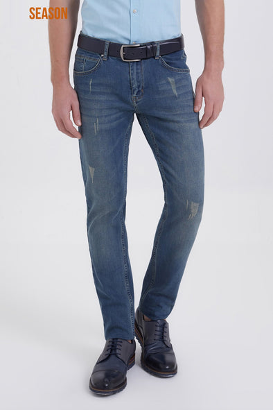 Sayki Men's Aragorn Slim Fit Jeans