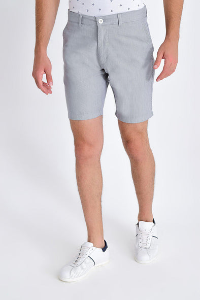 SAYKI Men's Slim Fit Cotton Shorts